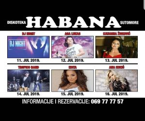Habana, VIkend program